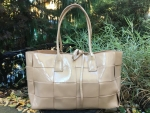 Tom & Eva collection Paris  Tasche in Ledereffekt beige
